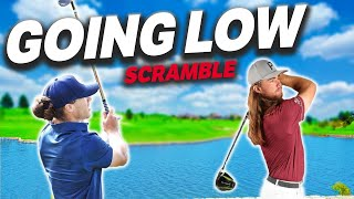 I Played A 9 Hole Scramble With Kyle Berkshire | What Can We Shoot? | Micah Morris