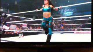Melina Perez's Split With a Great ViEW !! Raw 9.21.1O