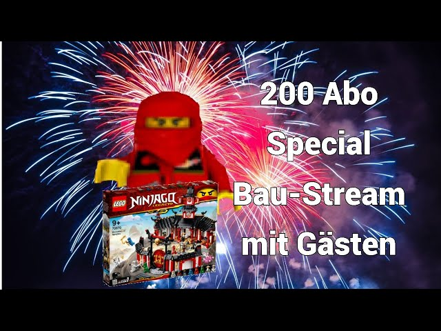 200 Abonnenten Special Bau-Stream mit Gästen [BBfH] | Steinfreund2014