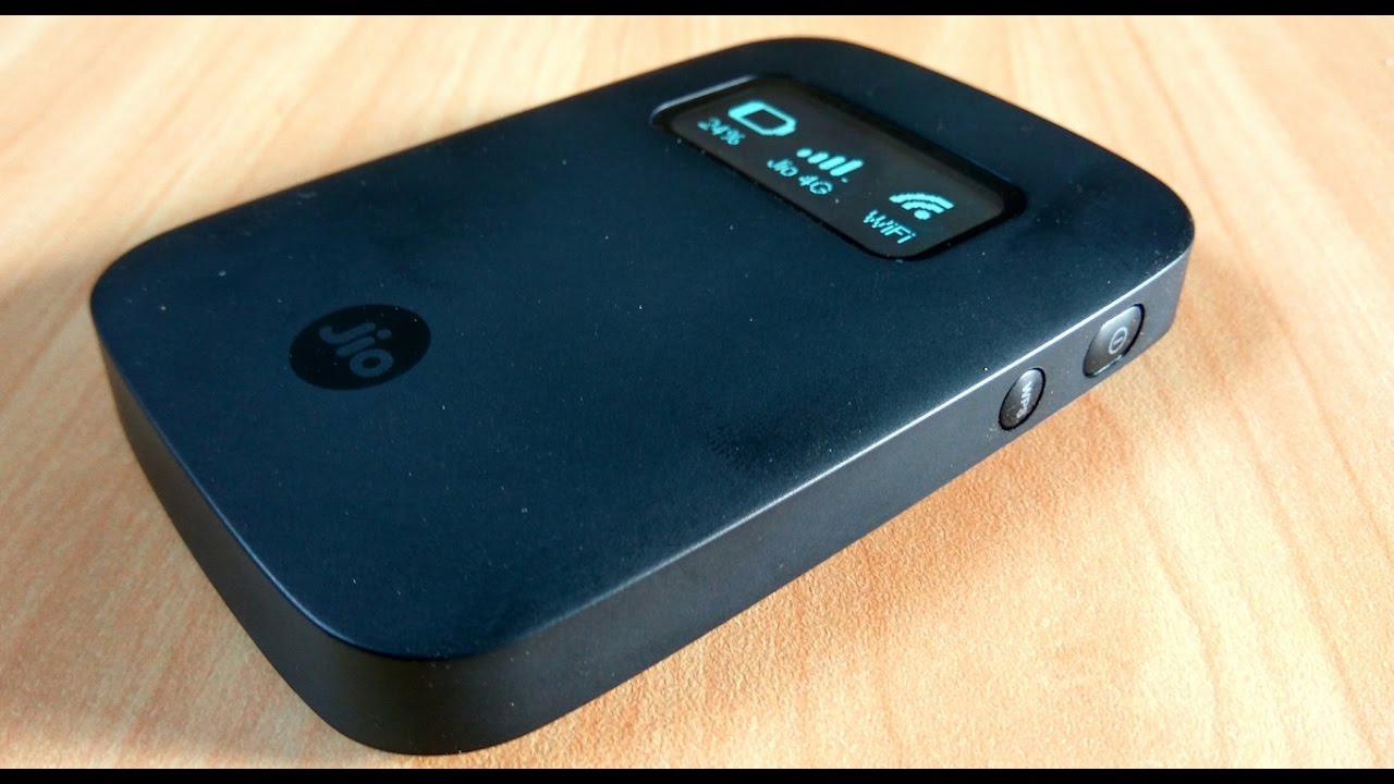 Reliance Jio Fi 4G With OLED Display Hostpot Device
