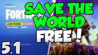 free save the world glitch