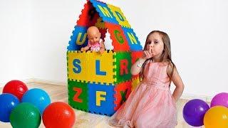Кукла Беби Бон Настя и Юля Игра в прятки Baby doll Nastya and Yulya play hide and seek.