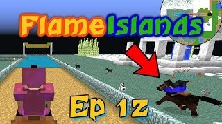 Minecraft: Cheaters Horse Race || Flame Islands Episode 12
