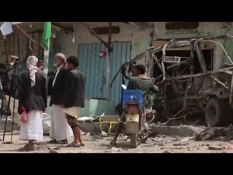 Deadly airstrike kills dozens in Yemen