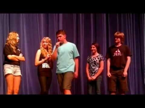 Performing Art Class Show Mountain View High School Mesa, Arizona, May 8th, 2012