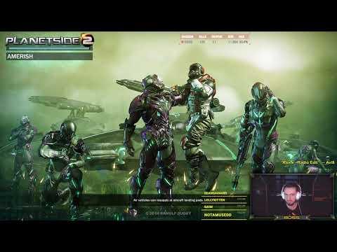 Planetside 2 ▶ Stream Highlights #19 - 100 kills in 20 minutes