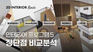 [3D 인테리어 프로그램 추천] 상황별 (이사, 가구배…