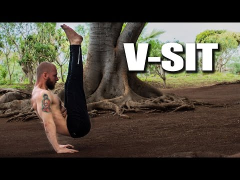 How to do V-sit Tutorial / Progressions