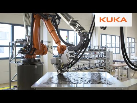 KUKA Robots Make Advanced Carbon Fiber Components at Compositence