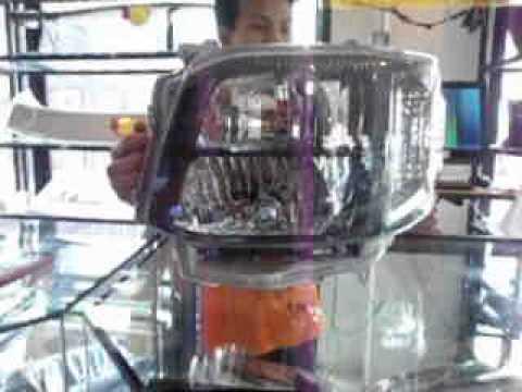 TRC  โคราช  อวดไฟหน้า รถตู้ คอมมูเตอร์  2 ชั้นโคมดำมี  DRL