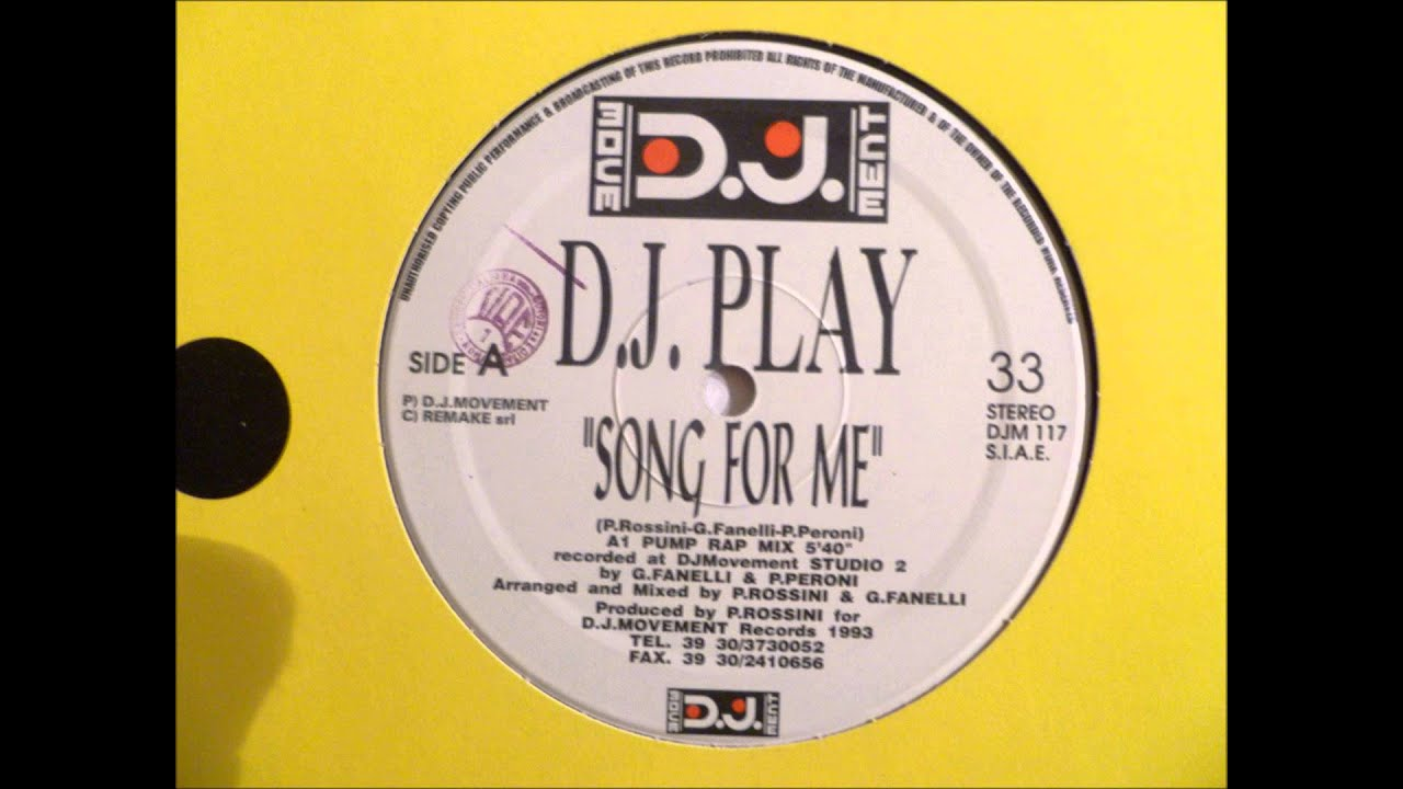 d j play song for me youtube
