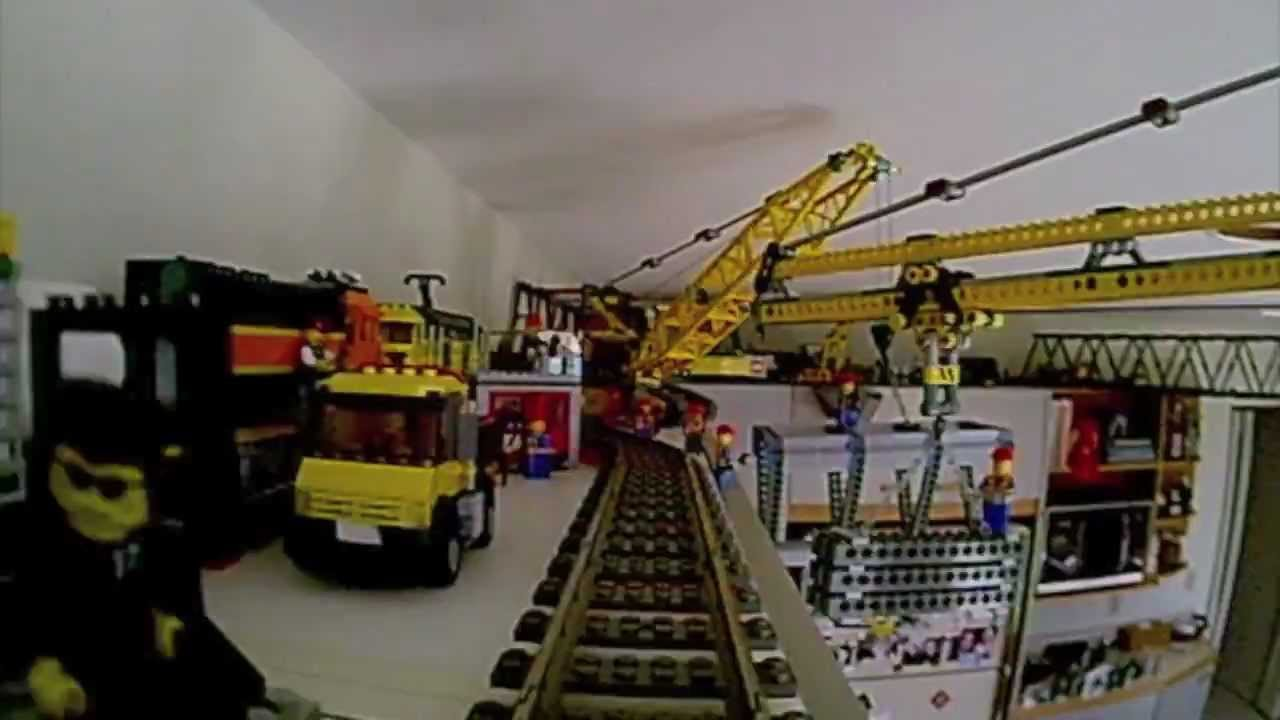 Kitchen Lego Train Bridge Layout Youtube