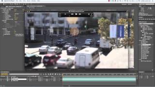 Tilt Shift (Miniature Effect) Tutorial in After Effects