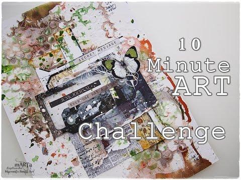 10 Minute ART - Maremi Challenge #1