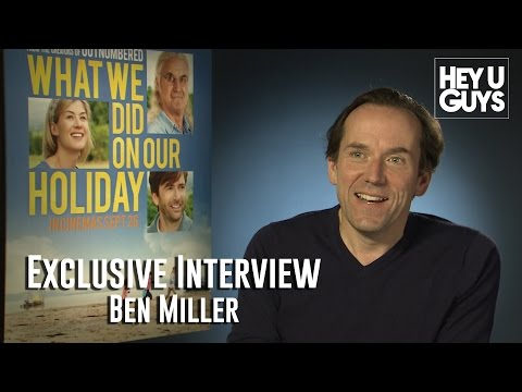 Ben Miller Interview - What We Did On Our Holiday (HD)