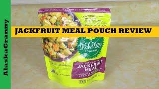 Vegan JackFruit Meal Pouch Jackfruit Company Healthy Shelf Stable Foods Vegan Prepping MRE