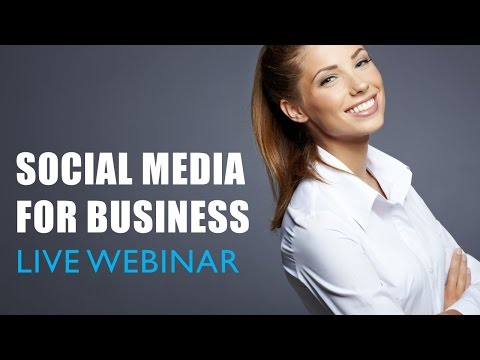 Social Media for Business - Webinar with Bibby Consulting Group