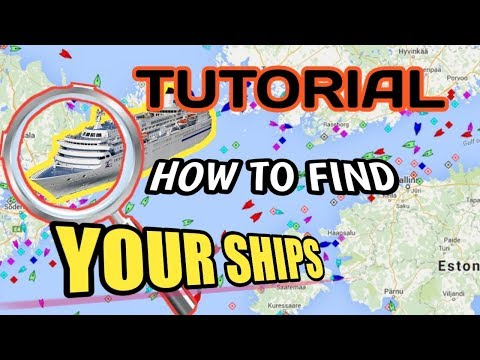 How To Find Your Ships Location | Marine Traffic | Vessel Finder
