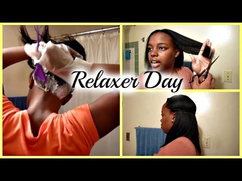 RELAXER WASH DAY ROUTINE | START TO FINISH