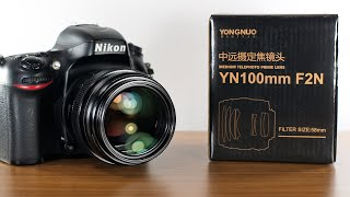 Yongnuo 100mm f2 for Nikon Review   v1.01 firmware YN100mm F2N