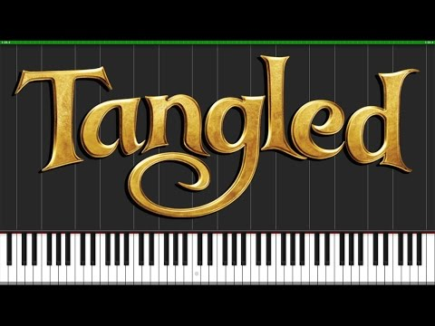 I See The Light - Tangled [Piano Tutorial] (Synthesia) // Wouter Van Wijhe