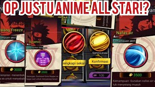 I GET FREE OP JUSTU IN ANIME ALL STAR?! Funny Moment Anime All Star [Blockman Go: Blockymods] screenshot 5