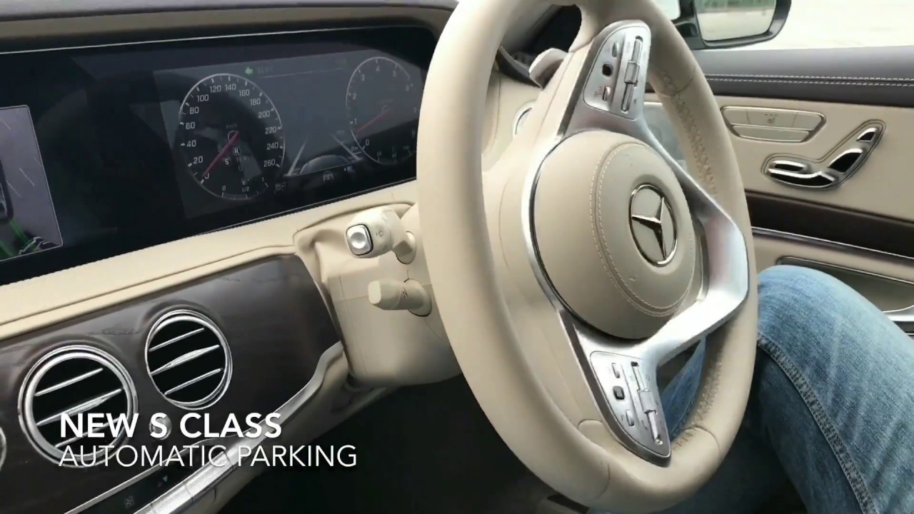 Mercedes S Class Automatic Parking and Unpark Demo