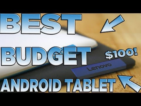 Best Budget Android Tablet Under $100 2017 | Lenovo Tab3 8 Plus (P8) Review