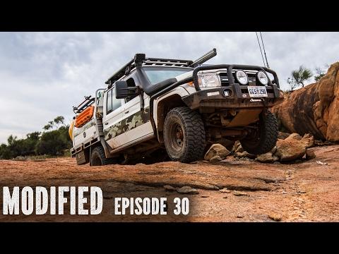 Toyota 79 series V8 dual cab, modified Episode 30