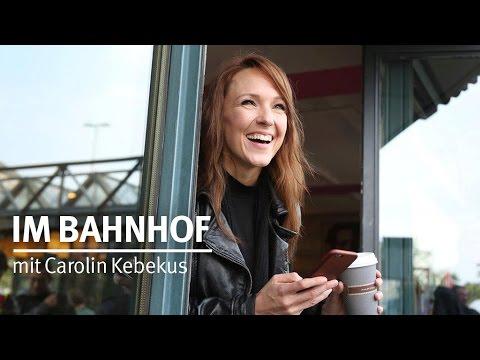 Im Bahnhof mit … Carolin Kebekus