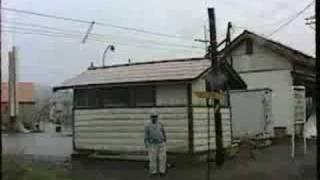 JR北海道・深名線-幌加内駅停車・車窓風景1995年8月撮影