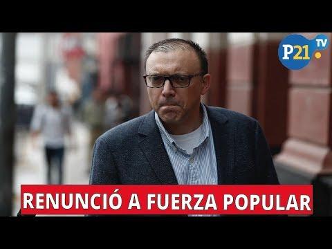 PIER FIGARI RENUNCIÓ A SER PERSONERO LEGAL DE FUERZA POPULAR