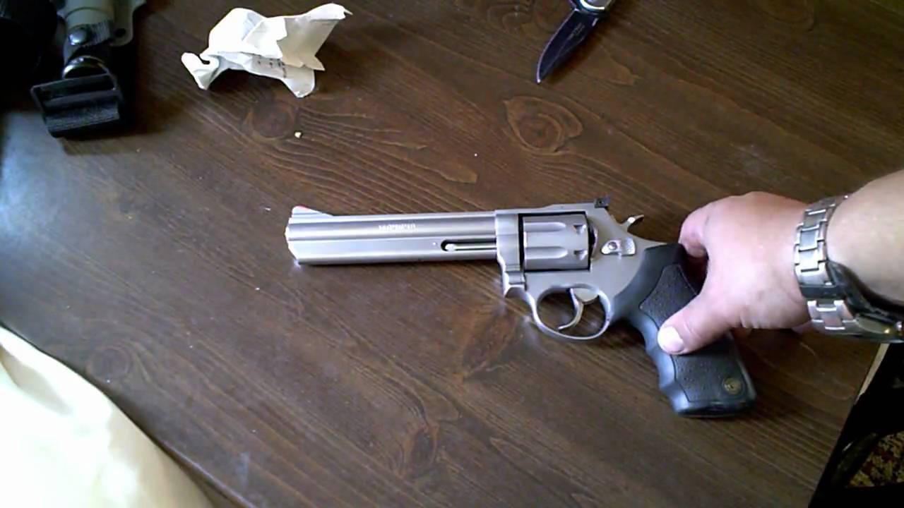 Taurus .357 Magnum model 66 review - YouTube
