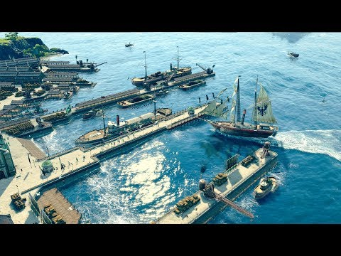 ANNO 1800 | Ep. 1 | Building A New Empire | Anno 1800 City Building Tycoon Sandbox Gameplay
