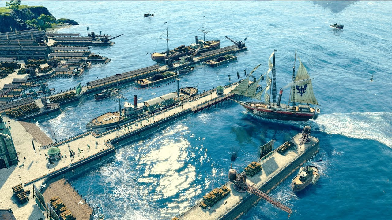 Anno 1800: New update should fix bugs in the travel time DLC