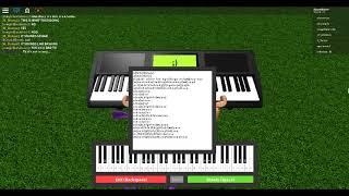 Roblox Piano - El río fluye en ti