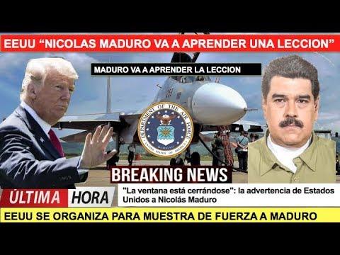 EEUU Maduro va a aprender la leccion