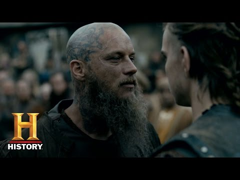Vikings: Ragnar Challenges His Death - Season 4 Episode 10 | History
