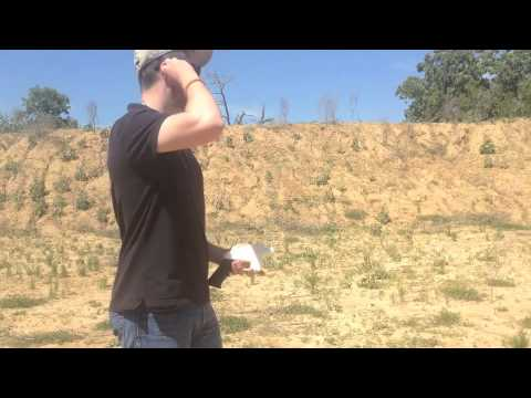 The first ever hand-firing of the world's first fully 3D-printed gun