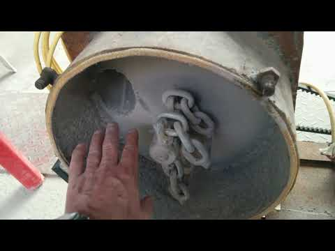 Мелкий тюнинг большой дробилки для добычи золота из камня   Rock crusher gold