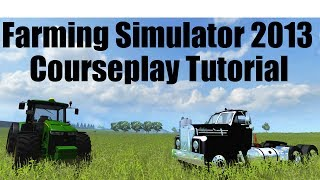 Courseplay Tutorial - How to use manure transporter mode