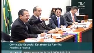 Comissão debate o Estatuto da Família com Silas Malafaia e Toni Reis