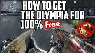 Black ops 3 How to Get the New Olympia Shotgun Completely for Free Easily!! (XBOX ONE ONLY)