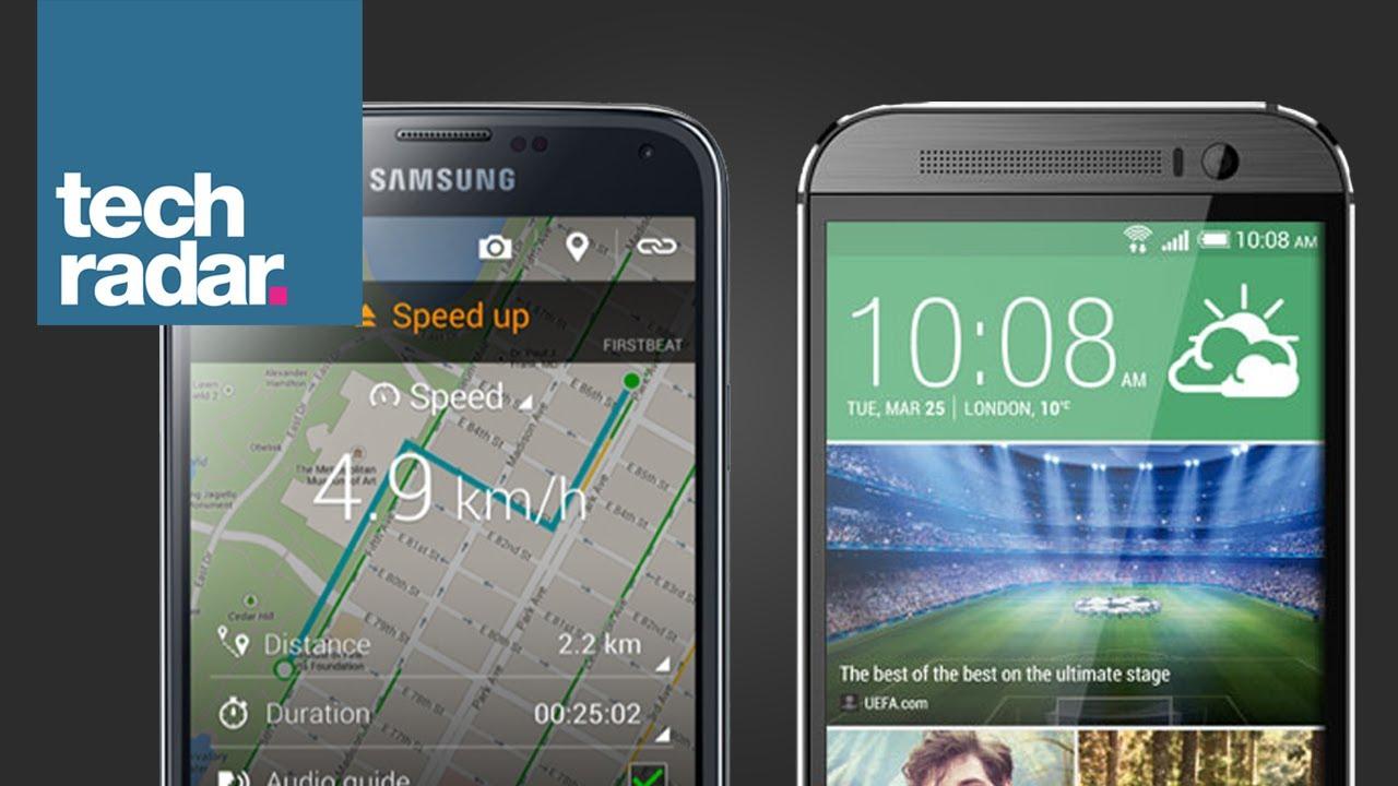 HTC One (M8) vs Samsung Galaxy S5 - YouTubeHtc One Max Vs Galaxy S5