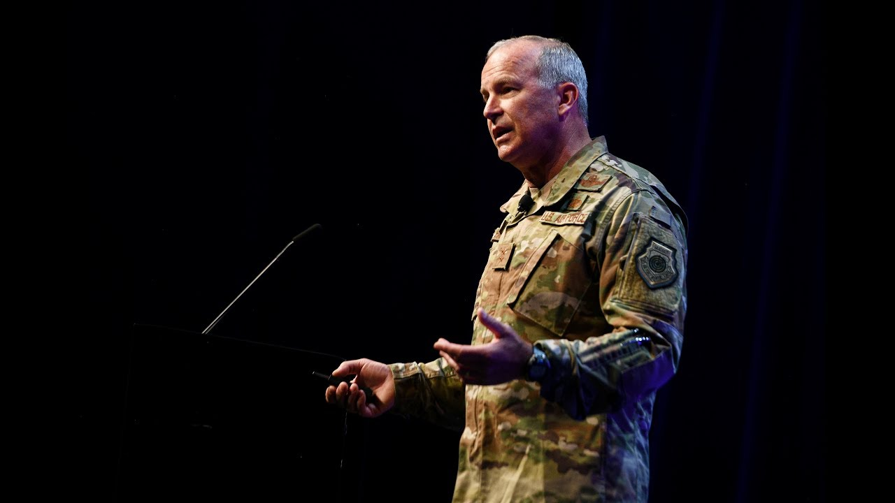 Watch as Maj Gen Michael Fantini, Director of Air Force Warfighting Integration Capability, speaks about Multi-Domain Operations during AFWERX Fusion 2019. 