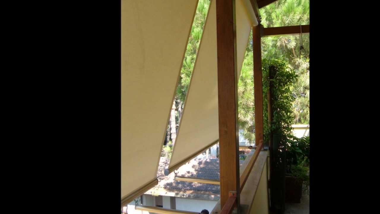 Tende da esterno youtube for Tende da esterno antipioggia