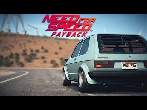 GOLF, AUDI I POLICIJSKA POTJERA - Need For Speed : Payback Ep2