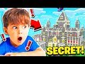 I FOUND my LITTLE BROTHERS **SECRET** MINECRAFT WORLD!
