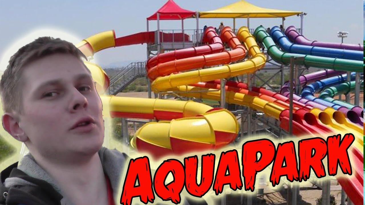 видео аквапарк с фростом