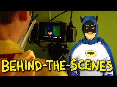 Batman 1966 TV Show Intro - Homemade (Behind The Scenes)